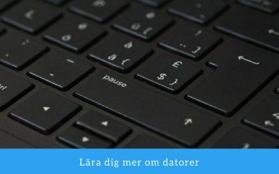 Allt om datorer